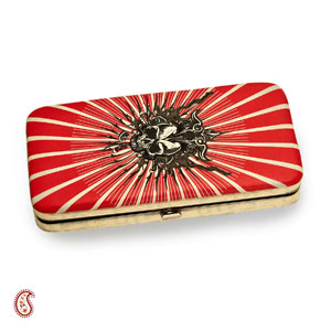 Red and White Pouchette