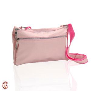 Baby Pink Textured Clutch