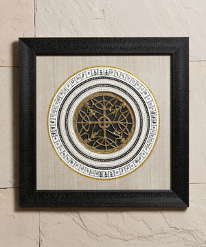 Exciting Black Frame with Dhokra Work