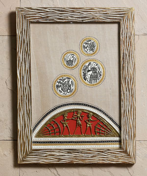 Exotic Wall Hanging with Dhokra Work