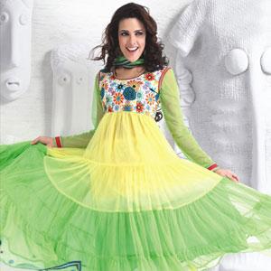 Net Dress Material