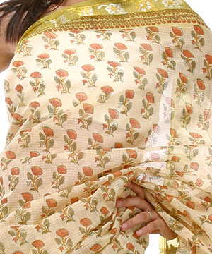Cotton Sarees-Basanti