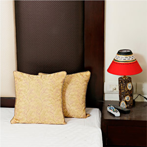 Traditional Tissue Silk Cushion Cover Set