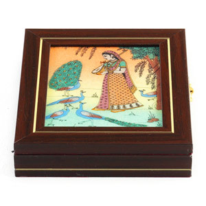 Gemstone Jewellery Casket