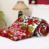 Leopard and Floral Print Single Bed Comforter