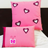 Heart Alluring Decorative Cushion Cover Set