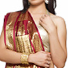 Handloom Design Beige and Maroon silk Saree with Zari Pallu