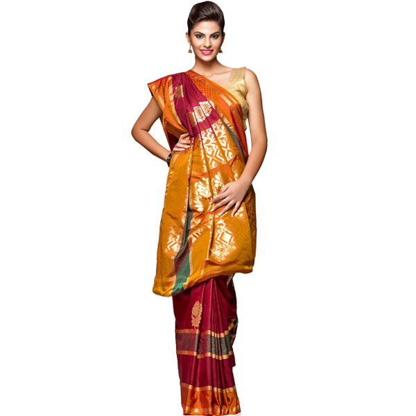 Authentic Traditional Silk Saree