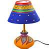Multicolor Handcrafted Terracotta Lamp