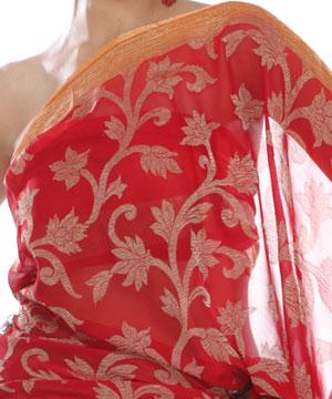 Chiffon saree-Chiffon Saree