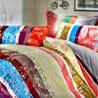 Multicolor and Multi Print Pure Cotton Bedsheet Set