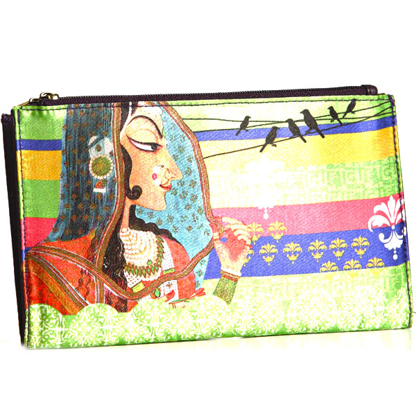Digital Printed Wallet with Royal Princess