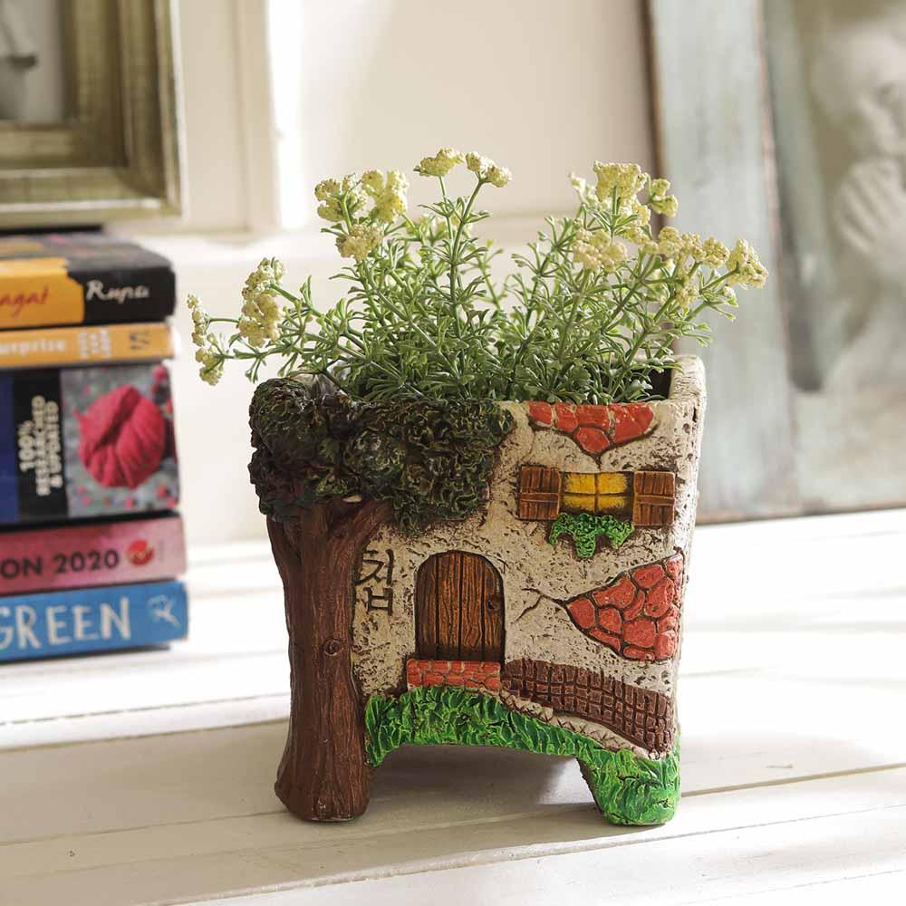 Unique House Style 11 CM Planter Pot