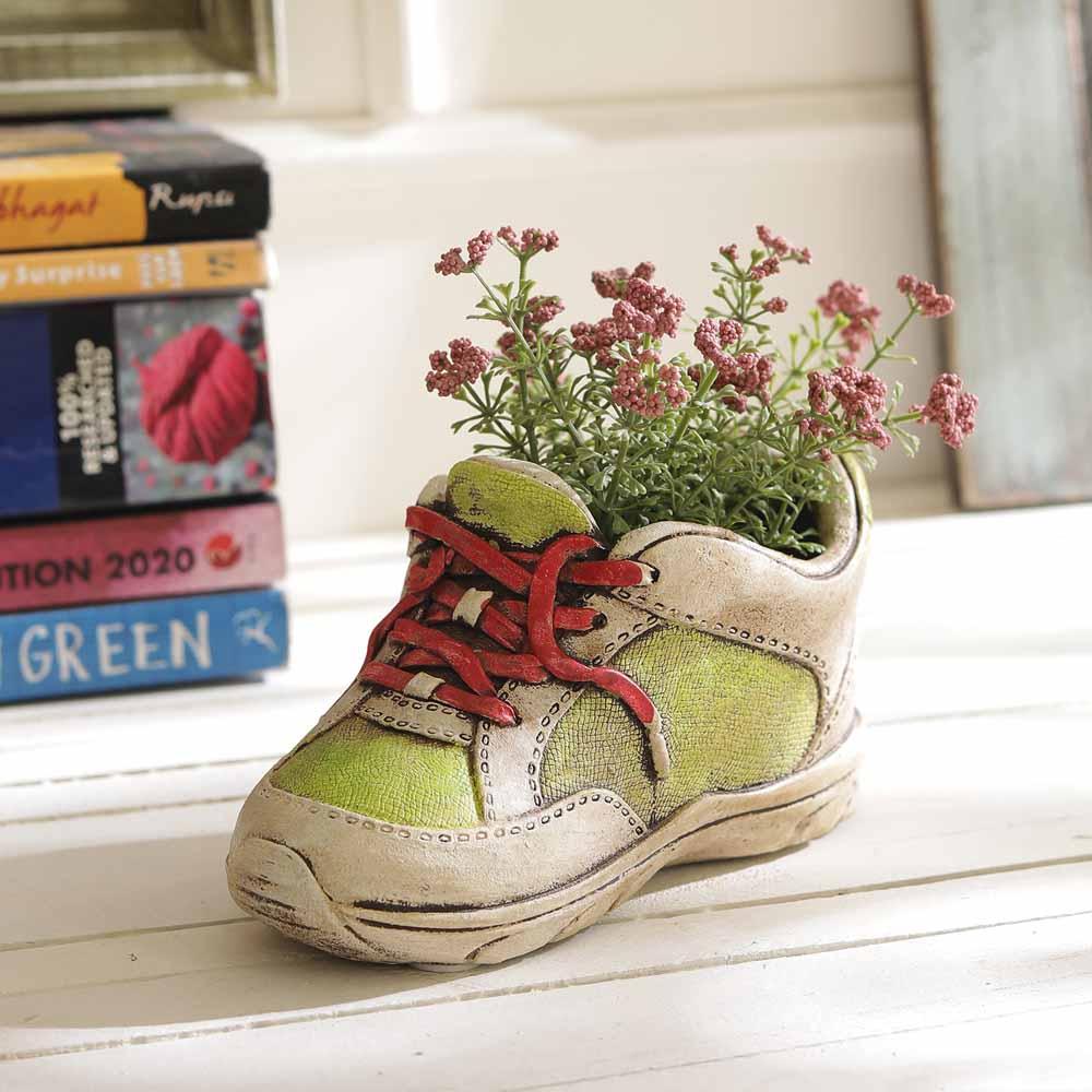 Uniquely Designed Shoe Style 9.5 CM Planter Pot