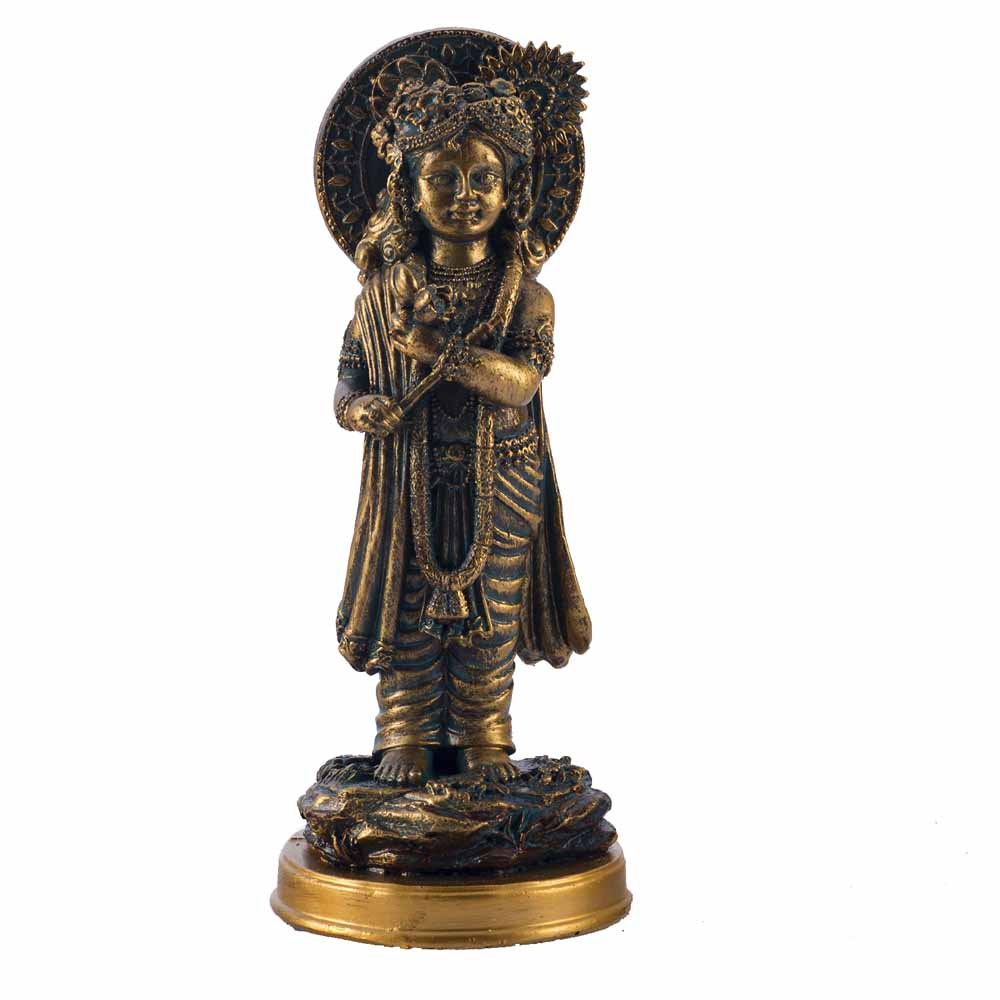 Ultimate Gold Finish Krishna Idol Showpiece