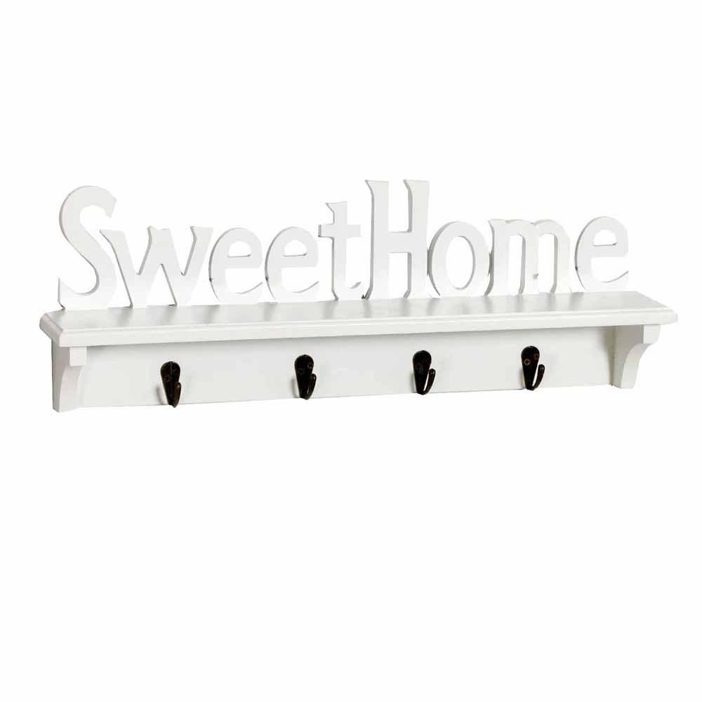 Key Holder-White Elegant Key Holder for Sweet Home