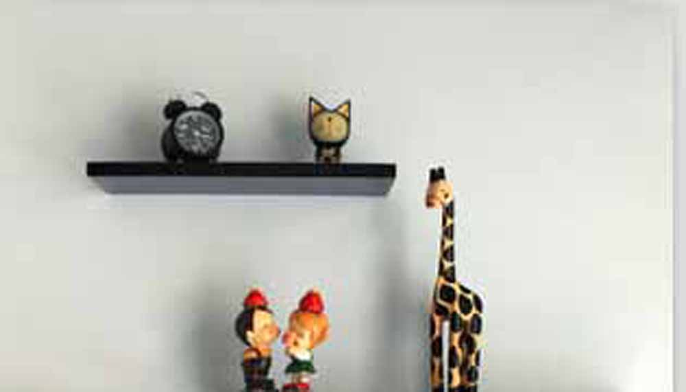 Wall Shelves-Sweet & Fine White Wall Shelf
