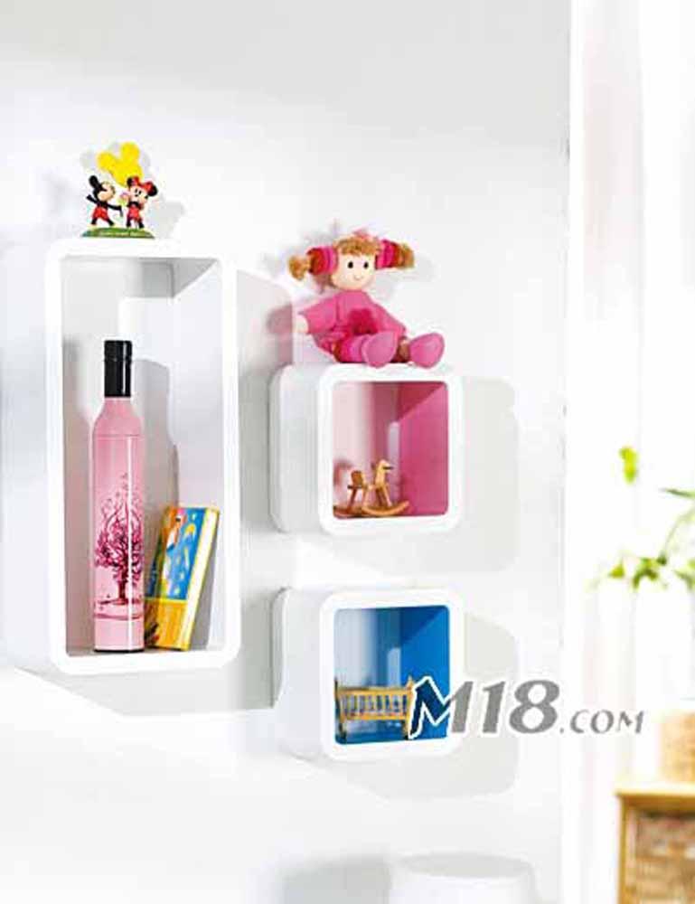 Wall Shelves-Graceful Multicolor Stylish Wall Shelves