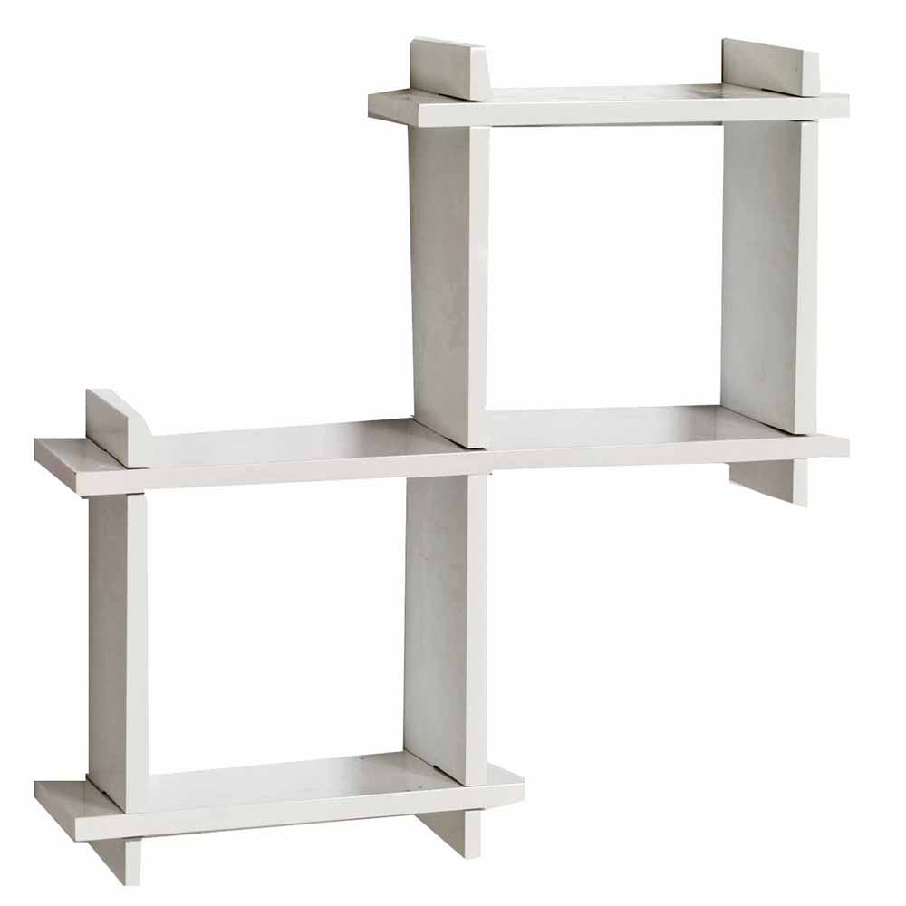 Wall Shelves-Awesome White 2 Box Wall Shelves
