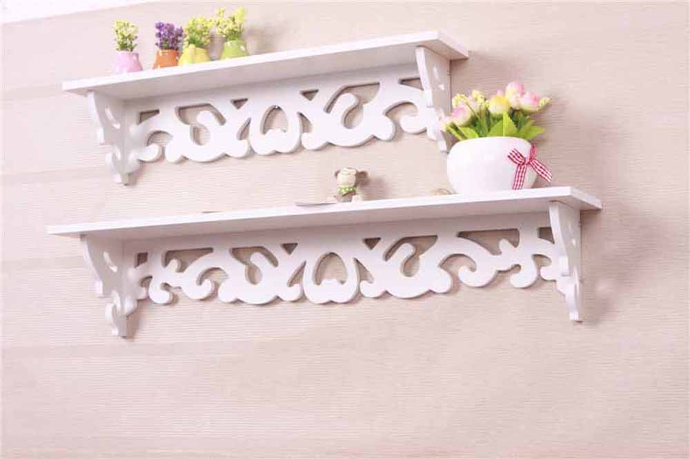 Wall Shelves-Simple & Elegant Designed White Wall Shelves