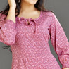 Maroon Cotton Top for Women