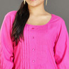 Pink Rayon Tunic for Women
