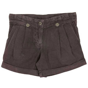 Cotton Purple Shorts for Girls