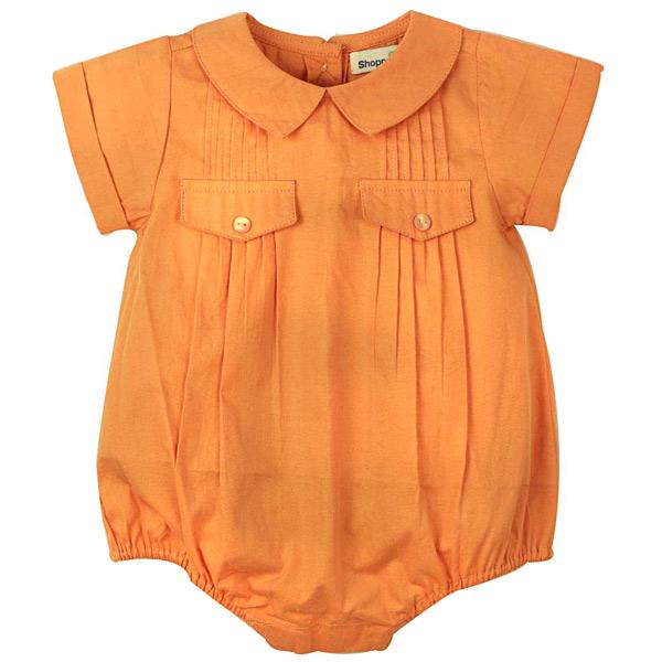 Peach Cotton Jumpsuit