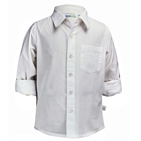 Pure White Elegant Shirt