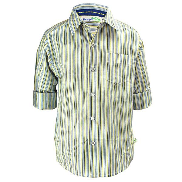 Multi Strips Shirt For Kids