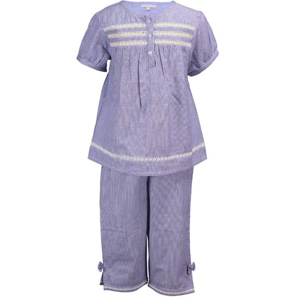 Blue Stripe Casual Dress