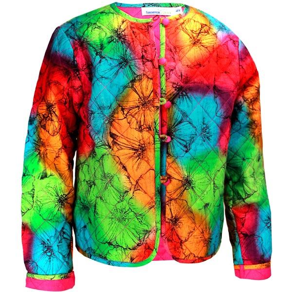 Tie Dye Printed Jacket
