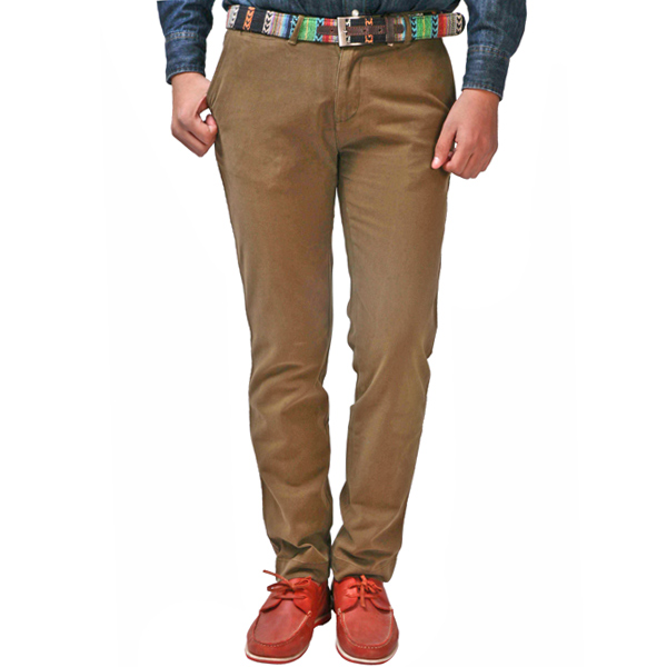 Brown Men Trouser