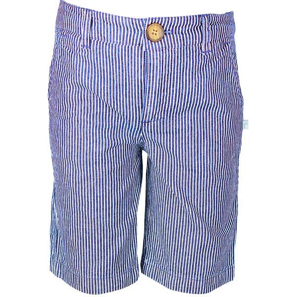 Denim Yarn Dyed Stripe Short
