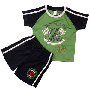 Sweet Potato Urban Rider Top and Bottom Set for Boys