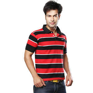 Clifton Polo Stripes T-shirt for Men, Clifton Polo Stripes T-shirt for Men