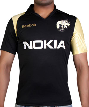 Reebok IPL KKR Fangear Jersey for Men