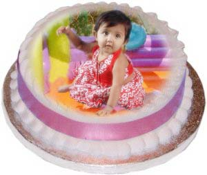 Mumbai Special-Personalised Photo Cake