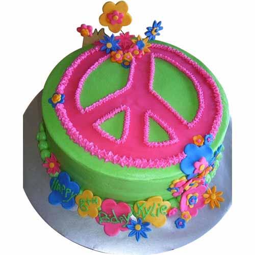 Flower Cake - Chandigarh Special
