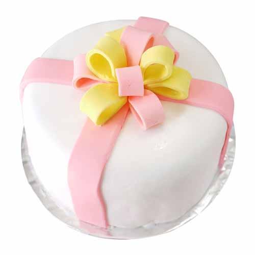 Flower Cream Cake - Chandigarh Special
