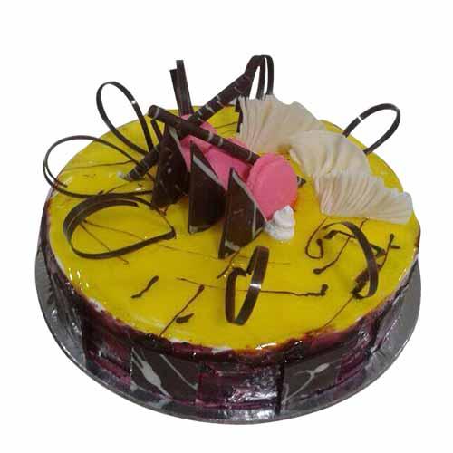 Blueberry Cream Cake - Chandigarh Special