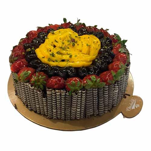 Chef's Special Hazelnut Chocolate Cake - Chandigarh Special