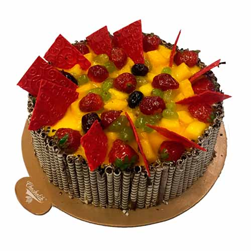 Chef's Special Mango cake - Chandigarh Special