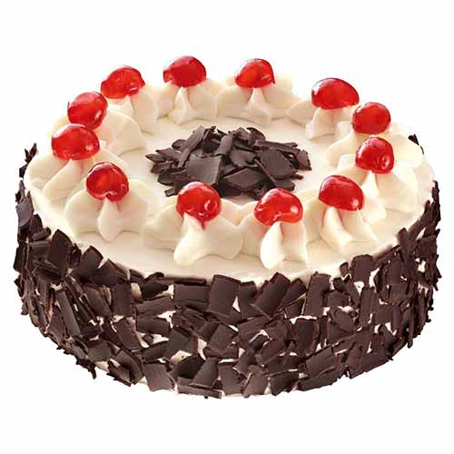 Cherry Wafer Surprise Cream Cake - Chandigarh Special