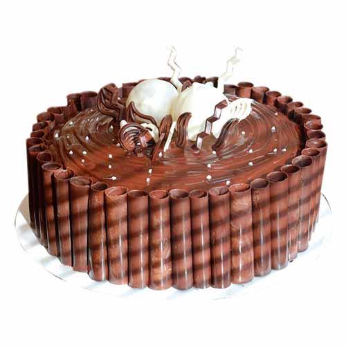 Choco Sticks Cream Cake - Chandigarh Special