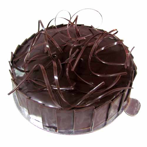 Chocolate Mousse Cake - Chandigarh Special