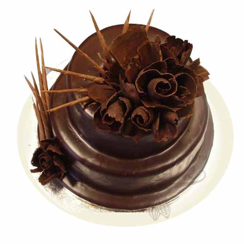 Chocolate Roses Cake 3kg - Chandigarh Special