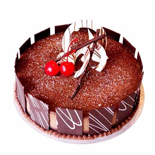 Cute Chocolate Birthday Cake - Chandigarh Special