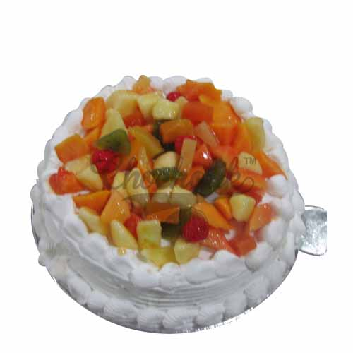Fruit Triffle Cake - Chandigarh Special