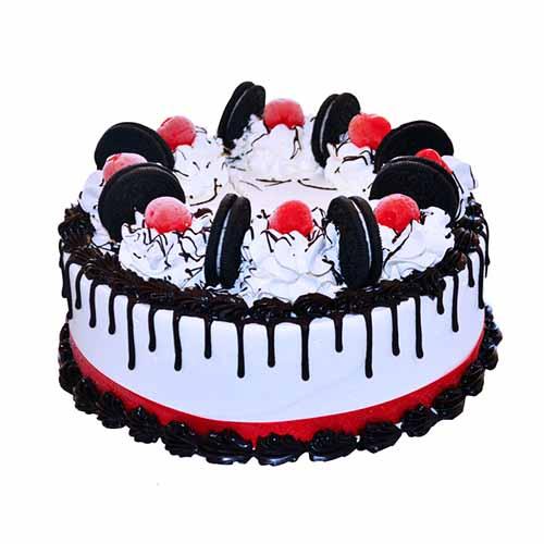Oreo Beautiful Cream Cake - Chandigarh Special